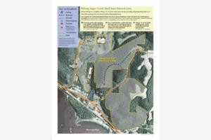 Sugar Creek Bluff State Natural Area Map