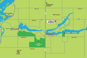 Adams County, WI 9 Acres of Wooded Property and Lake Camelot!