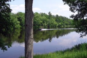 Crivitz Area, WI 8.75 Acres, Storage Shed, Well and Privy by the Menominee River!