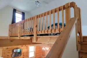 Kickapoo River 2 Bedroom Log Cabin with 453' Shoreline in SW Wisconsin!